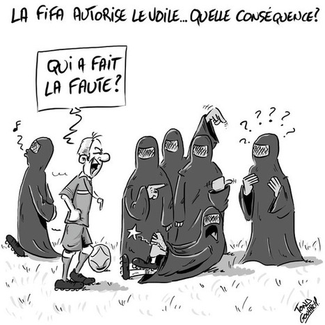 La Fifa autorise le voile... | Baie d'humour | Scoop.it