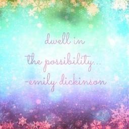Possibilities... - elenadillon.com | elenadillon.com | Romance Writing | Scoop.it