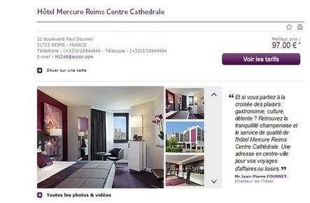 TOM, Travel On Move – Mercure améliore son taux de réservation grâce à la data   Tourisme veille info   Scoop.it