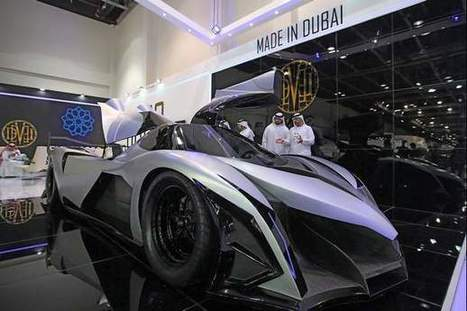 Super sportscar to be made in Dubai - The National | Sports | Scoop.it
