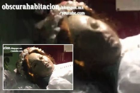 Terrifying moment corpse of child saint suddenly opens her eyes | Strange days indeed... | Scoop.it