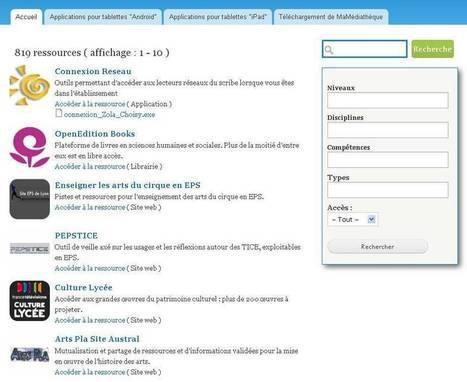Tice Education : Premier portail de l'éducation numérique - Tice, TNI, supports de cours, B2i, Quizz C2i, tablettes tactiles, Ipad, Android, Smartphones - Créteil@EduMarket : Un répertoire d'applic...   Pépin Divers   Scoop.it