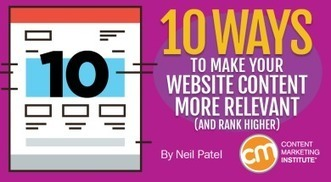 10 Ways to Make Your Website Content More Relevant (and Rank Higher)   Channel Instincts   Scoop.it