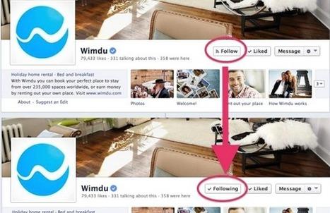 Vous pourrez bientôt 'suivre' des pages sur Facebook   Webmarketing & Ebusiness news   Scoop.it