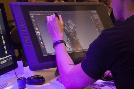 6 Major 3D Designers Compete at 3D Printer World Expo | 3D Virtual-Real Worlds: Ed Tech | Scoop.it