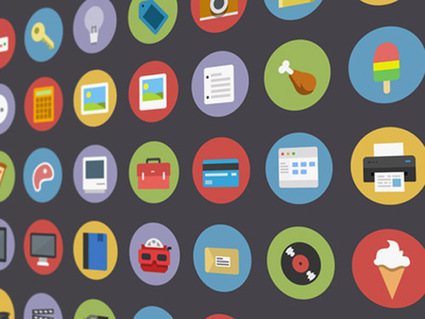 50 Flat Icons Set, Best for Web and App UI Design   Icons   Design Blog   Fullweb   Scoop.it