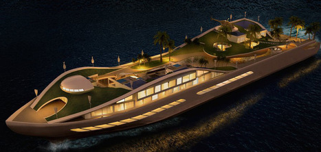 This Incredible Yacht Concept Is Basically A True Floating Island   Everything from Social Media to F1 to Photography to Anything Interesting   Scoop.it