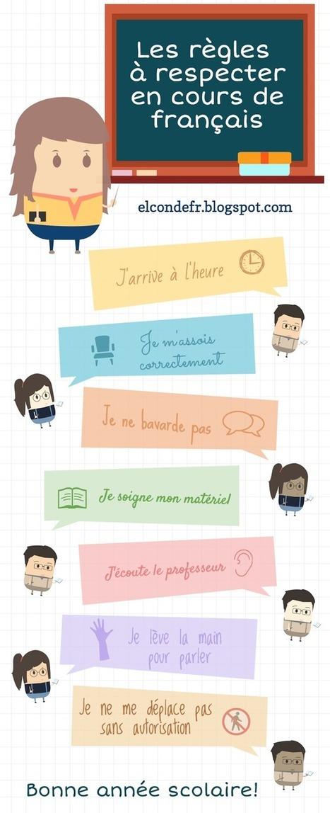 Les règles de vie en cours de français | FLE enfants | Scoop.it