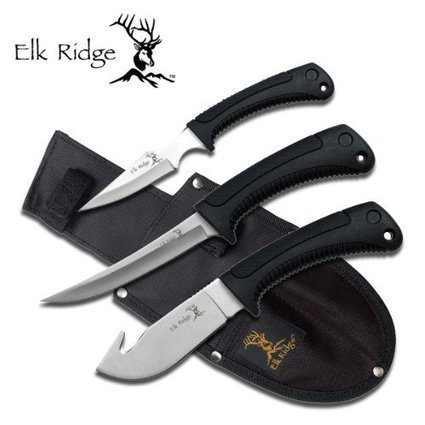 3 Pc Elk Ridge Hunting Knife Set | Survival Knives by Edge Survival Knives.com | Scoop.it