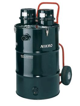 Nikro 55 Gallon Dual Motor HEPA Vacuum (Dry) - HD55230   Janitorial and Restoration Supplies   Scoop.it