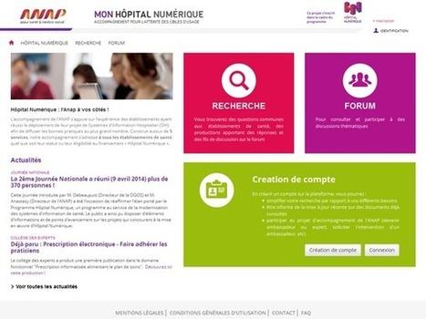 Mon hôpital numérique : plateforme d'accompagnement des établissements par l'Anap | esante | Scoop.it