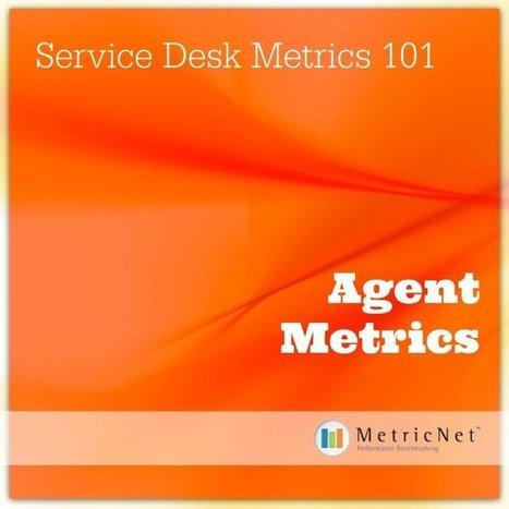 Service Desk Metrics 101 | Agent Metrics | IT | Service Desk | Desktop Support | Call Center | Performance Benchmarking | Scoop.it