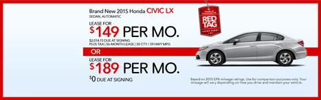 Honda of Downtown Los Angeles | Honda Civic Special | Vehicle Selection | Scoop.it