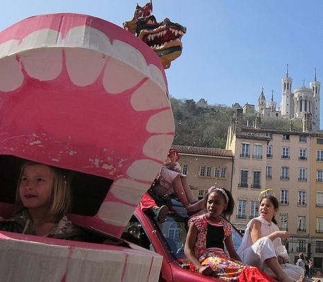 LYon-Actualités.fr: Le carnaval des dragons de St-Georges, un défilé haut en couleurs   LYFtv - Lyon   Scoop.it
