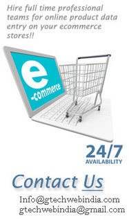 Online product entry services at very low price | Gtechwebindia - Data Entry Company | Scoop.it