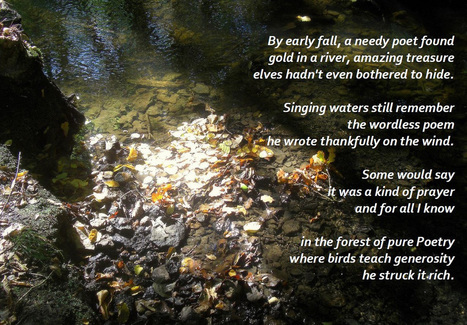 Gold in a River | Poetry for inspiration | Scoop.it