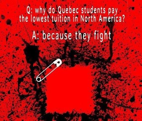 Q: Pourquoi les étudiants québécois paient-ils les frais de scolarité les plus bas en Amérique du Nord? | Musée de la grève étudiante au Québec 2012 - Museo de la huelga estudiantil en Québec 2012 | Scoop.it