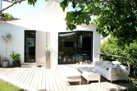 Visite déco : Une jolie petite maison rénovée dans le sud de la France | décoration & déco | Scoop.it