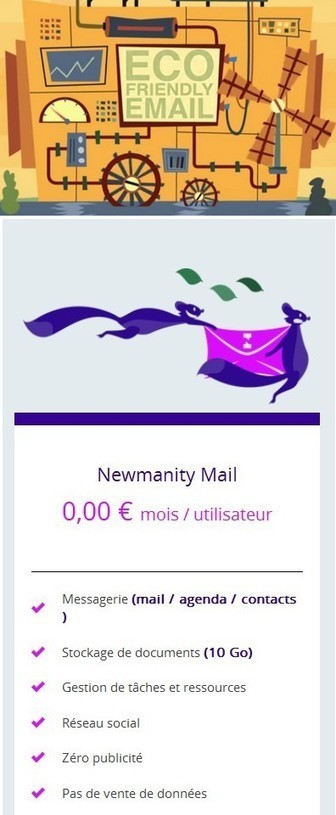 Newmanity Mail Fr 2016 Service professionnel gratuit Messagerie Mail Agenda Contacts 10 Go | Logiciel Gratuit Licence Gratuite | Scoop.it
