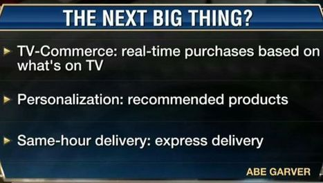 Will TV-Commerce Be the Next Big Thing? | T commerce | Scoop.it
