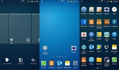 S Launcher Prime (Galaxy S5 Launcher) 2.0 apk   Android Themes   Scoop.it
