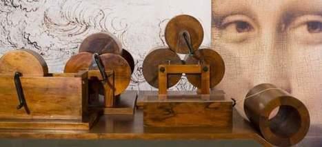 Los inventos de Leonardo Da Vinci desembarcan por primera vez ... - 20minutos.es | Teoría e Historia del Arte y del Diseño | Scoop.it