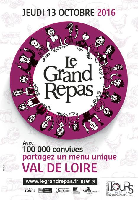 Le Grand Repas, 2e édition : rendez-vous le 13 octobre ! | Fête de la Gastronomie 23 au 25 sept. 2016 | Scoop.it