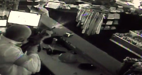 CAUGHT ON CAMERA: Store Owner Lights up Trio of Armed Robbers with AR-15   Criminal Justice in America   Scoop.it