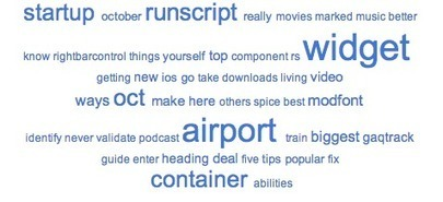 Word Cloud Creator - Google Script Examples by Romain Vialard | Google Apps Script | Scoop.it
