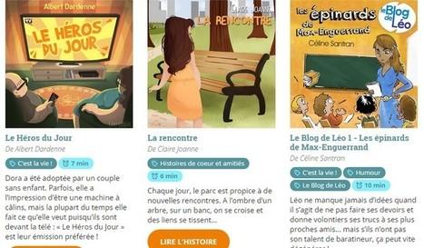 Short Édition Jeunesse : le plein d'histoires courtes pour ton smartphone ! - Geek Junior - | Remue-méninges FLE | Scoop.it