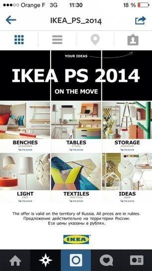 Instagram utilisé comme un site web par Ikea | Community Management | Scoop.it