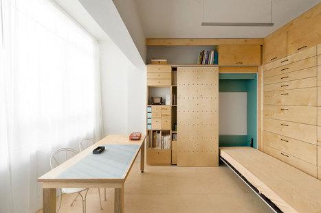Raanan Stern studio: a modular, flexible live-work space | PROYECTO ESPACIOS | Scoop.it