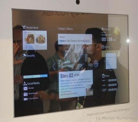 CES 2014 : Toshiba dévoile des concepts d'intégration de TV connectée Domotique meuble tv connectée ultra HD | Domotique | Scoop.it