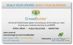 CrowdBuilder Review - Crowdfunding PR Technology - CrowdFunding Website Reviews | Crowdlaunched | Scoop.it