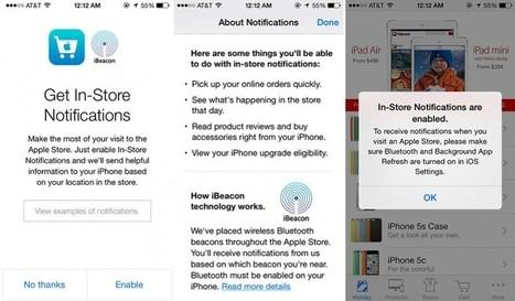iBeacon d'Apple : la chasse aux balises a commencé ! | digital startups | Scoop.it