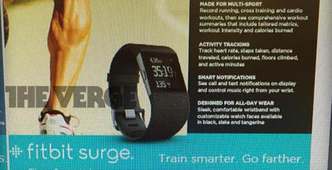 Fitbit enters the smartwatch game with the Surge 'fitness superwatch' - CNET   Bushi Kai USA   Scoop.it