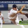 match baseball | baseball live | baseball streaming | baseball américain | france baseball | résultat baseball