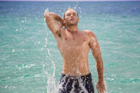 Behind the Scene Glimple of Scott Eastwood in Davidoff Cool Water | Male Model | Scoop.it