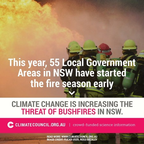 Be Prepared: Climate Change and the NSW Bushfire Threat | wildfire climate | Scoop.it
