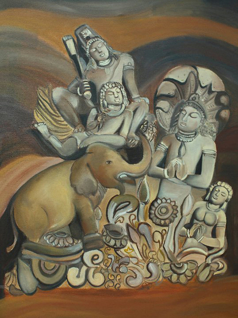 Fill your Dull Walls with Lively Vibrancy by Oil painting in Delhi | Art and Creation | Scoop.it