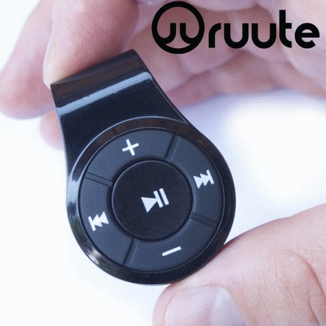 Ruute Launches SoundClip Line of Bluetooth Receivers for Headphones | Thomas Smith | Scoop.it