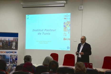 Visite d'une délégation de Techwomen à l'Institut Pasteur de Tunis   Institut Pasteur de Tunis-معهد باستور تونس   Scoop.it