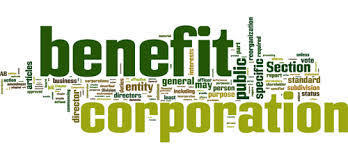 """The Benefit Corporation : A New Formula For Social Change 