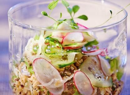 Le taboulé fashion : la salade multigraine | recettes | Scoop.it