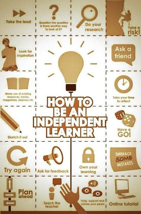 How to be an Independent Learner (infographic) | Learning Happens Everywhere! | Scoop.it