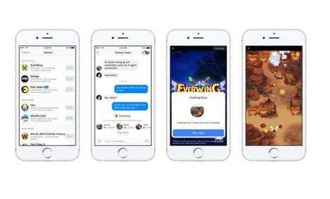 (Innovation) Facebook se lance sur le marché des jeux mobiles grâce à Messenger | A.S.2.0 - 16 | Scoop.it