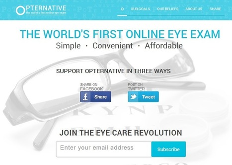 Opternative Takes the Initiative of An Online Eye Exam | Tech Warriorz | Opternative | Scoop.it
