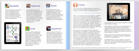 Apps in Education: Elementary iPad: E-mag | The Martin Institute | Scoop.it