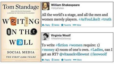 What Would Shakespeare Tweet? We Imagine 12 Literary Legends on Twitter | The Role of Social Media in Our Lives | Scoop.it