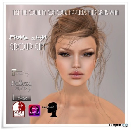 Fiona Skin by Van Luck | Teleport Hub - Second Life Freebies | Second Life Freebies | Scoop.it